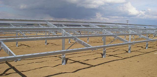 太陽光発電の架台