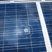 太陽光パネル割れの被害