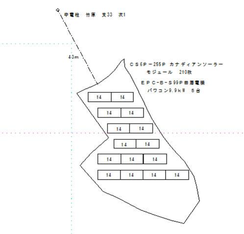 【3月完工】広島県安芸高田市|2080万円|限定1区画 設置図