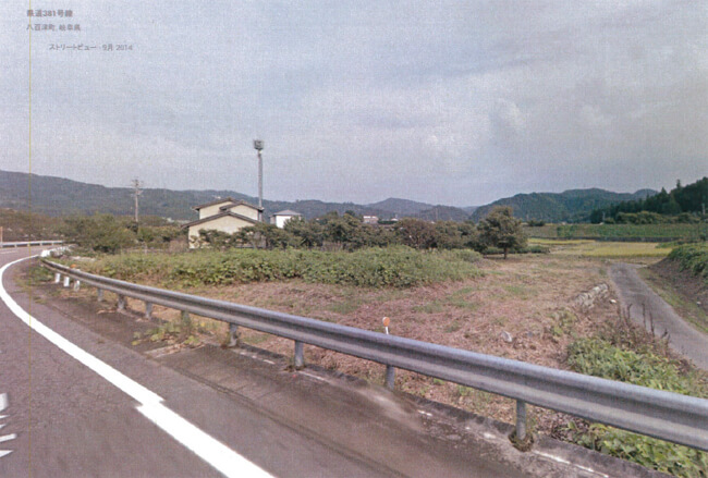 岐阜県加茂郡 47.94kW 設置場所