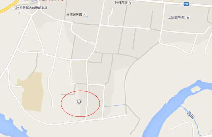 【32円完工済】39.5kW 限定1区画 三重県多気郡 現地地図