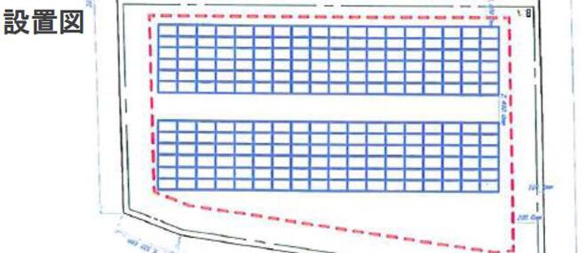 【32円】低圧54.8kw 限定2区画 茨城県守谷市 設置図