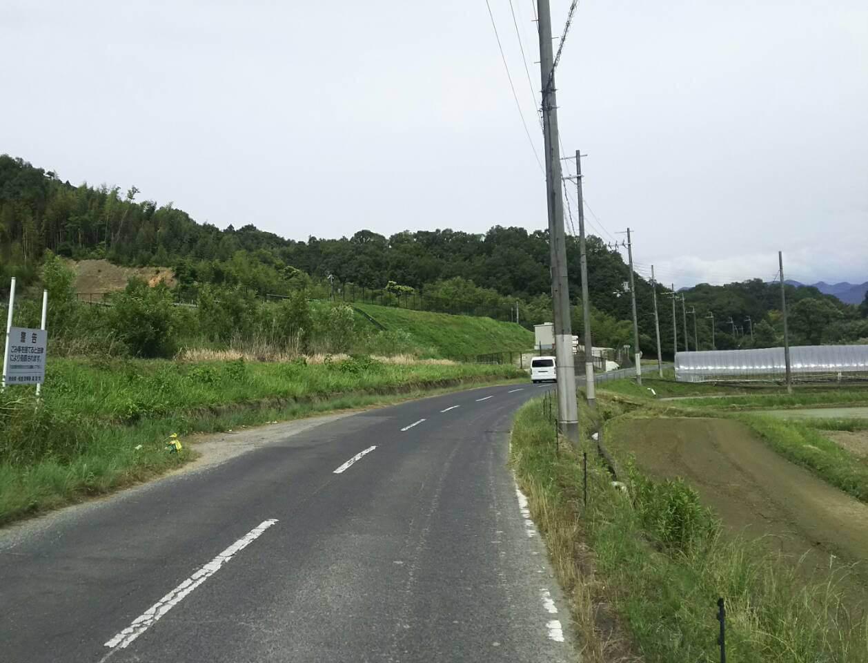 【21円】高圧491kw 2018年3月連系予定 奈良県高市 現地写真