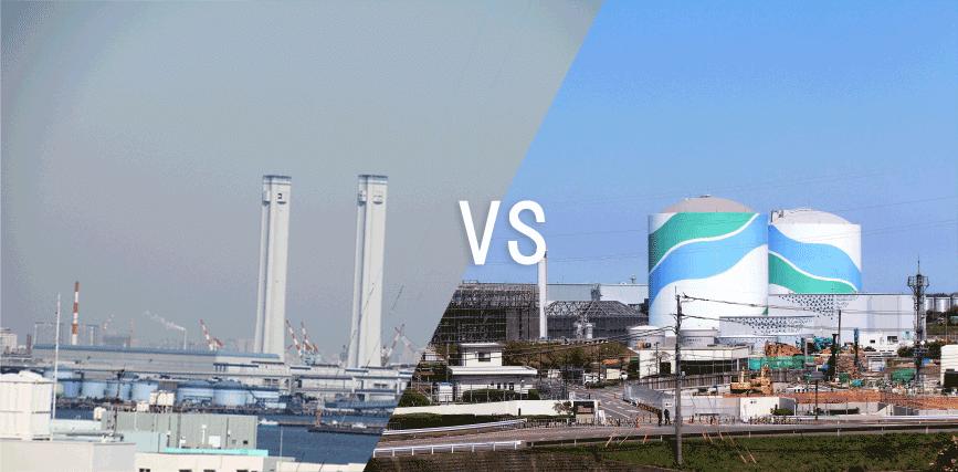 建設費ベースで比較する【原子力発電所】と【ガス火力発電所】