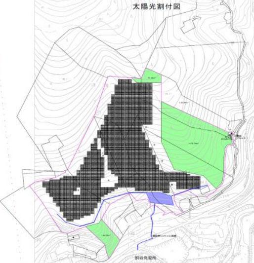 【32円】高圧3,003kW 年収入約1.238億円 岐阜県瑞浪市