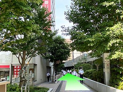 株式会社エナジーリンクス東京メトロ日比谷線中目黒駅ルート05