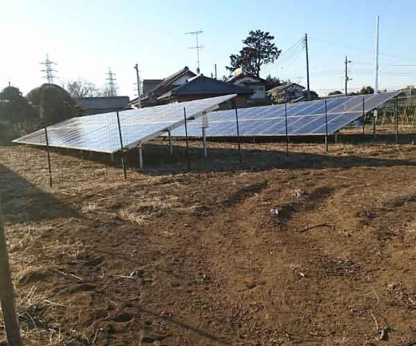 【24円】低圧53.088kW 完工済 ローン可能 利回り10%以上 茨城県下妻市土地付き分譲太陽光発電物件