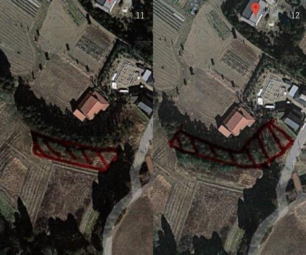 【21円】低圧合計79.9kW 2区画一括販売 年収入約204万円 千葉県長生郡11,12土地付き分譲太陽光発電物件