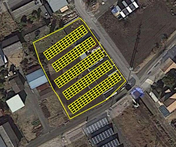 【14円】過積載83.52kW 限定一区画 年収入約140万円 岐阜県加茂郡土地付き分譲太陽光発電物件