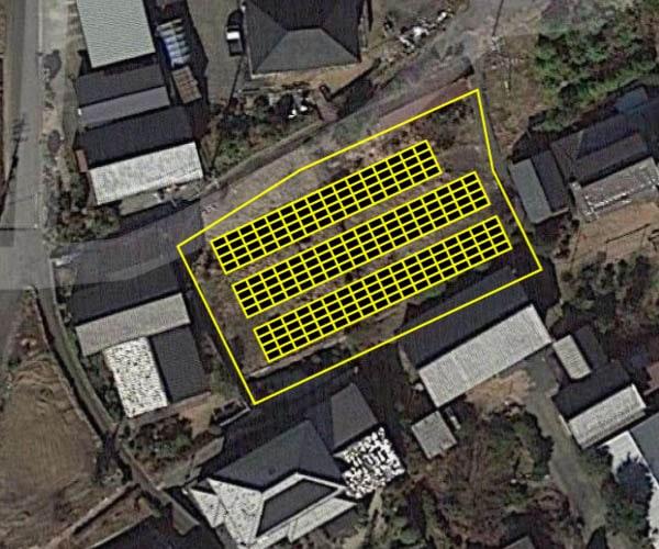 【14円】低圧62.64kW 利回り10%以上 年収入約115万円 岐阜県加茂郡土地付き分譲太陽光発電物件