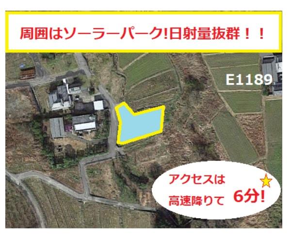 【14円】低圧58.28kW 利回り11%以上 人気のプチ案件 徳島県板野郡1189土地付き分譲太陽光発電物件