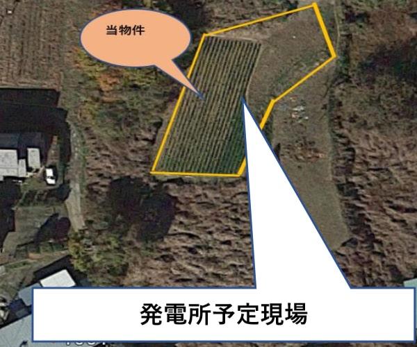 【24円】低圧58.3kW ローン可能 年収入約176万円 群馬県富岡市土地付き分譲太陽光発電物件