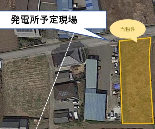 【24円】過積載72.6kW ローン可能 年収入約219万円 群馬県富岡市土地付き分譲太陽光発電物件