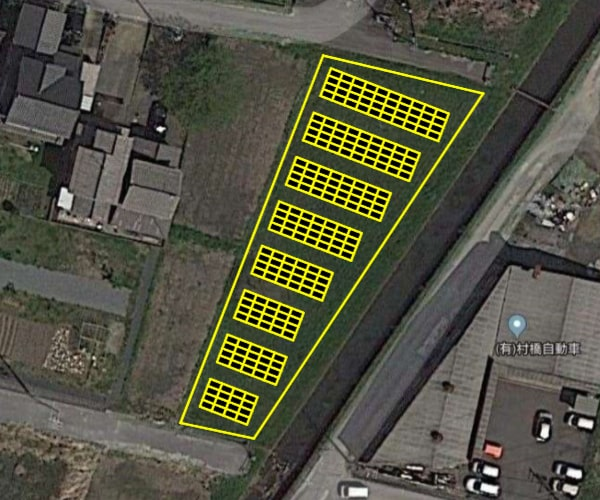【14円】低圧62.64kW ローン可能 年収入約118万円 岐阜県山県市土地付き分譲太陽光発電物件