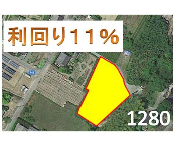 【14円】過積載100.44kW ローン可能 年収入約157万円 三重県多気郡G1280土地付き分譲太陽光発電物件