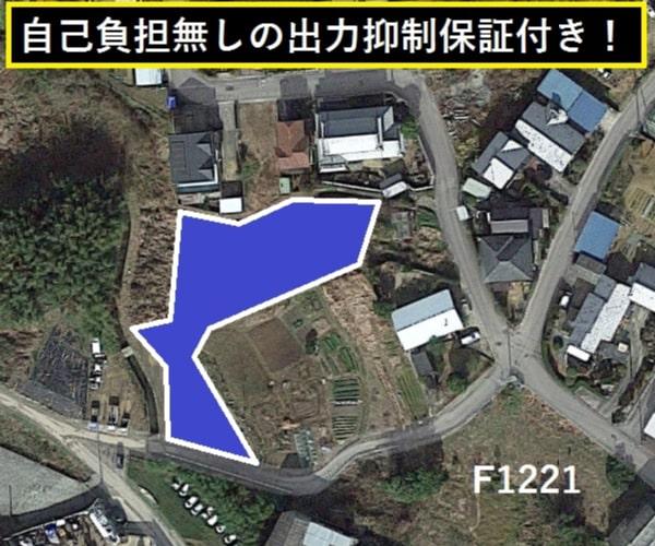 【14円】過積載100.44kW 利回り11%以上 年収入約165万円 徳島県吉野川市F1221