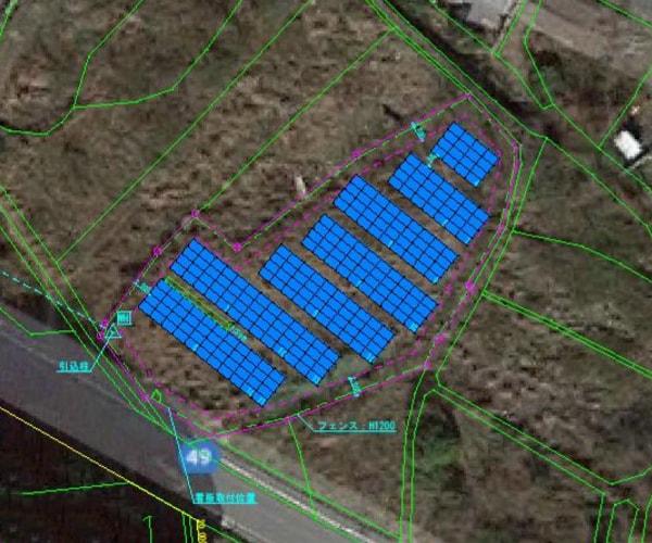 【18円】過積載80.64kW ローン可能 年収入約168万円 愛媛県今治市1350土地付き分譲太陽光発電物件