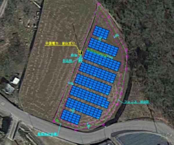 【18円】過積載85.365kW ローン可能 年収入約193万円 広島県三原市1424土地付き分譲太陽光発電物件