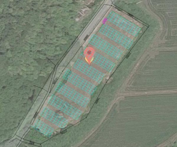 【14円】過積載102.92kW ローン可能 年収入約161万円 千葉県夷隅郡横山土地付き分譲太陽光発電物件