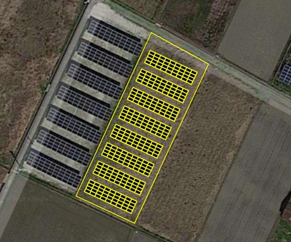 【14円】過積載89.28kW ローン可能 年収入約154万円 三重県鈴鹿市磯山町⑥土地付き分譲太陽光発電物件