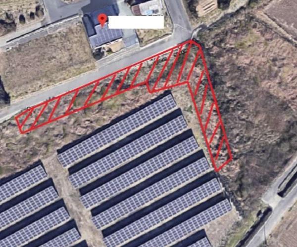 【14円】低圧64.38kW ローン可能 ソーラーフロンティア製パネル使用 静岡県磐田市17土地付き分譲太陽光発電物件