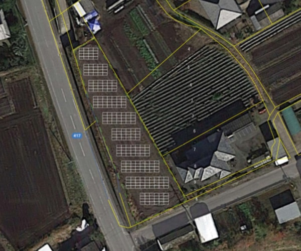 【32円】過積載72.8kW ローン可能 年収入約288万円 宮崎県都城市5土地付き分譲太陽光発電物件