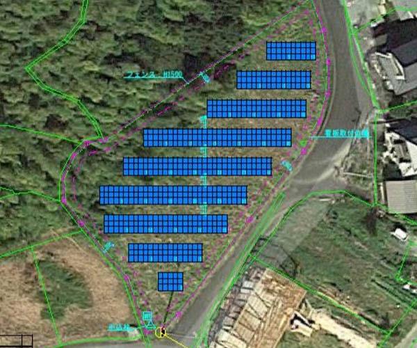 【18円】過積載99.9kW ローン可能 年収入約222万円 愛媛県大洲市P998土地付き分譲太陽光発電物件