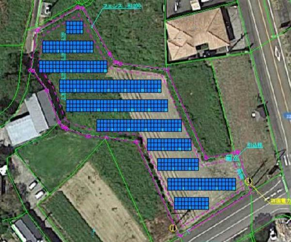 【18円】過積載99.9kW ローン可能 年収入約245万円 高知県幡多郡P937土地付き分譲太陽光発電物件