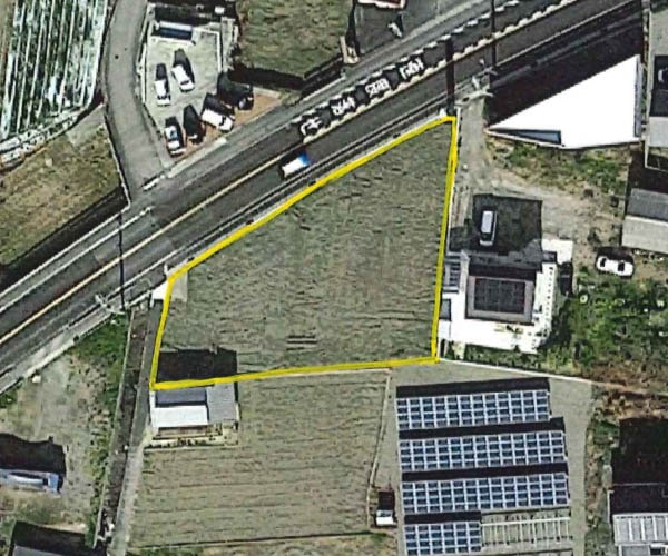 【14円】低圧64kW ローン可能 年収入約111万円 徳島県吉野川市282土地付き分譲太陽光発電物件