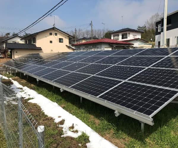 750【14円】43.4kW 完工済 フルローン可 年収入約93万円 福島県郡山市土地付き分譲太陽光発電物件