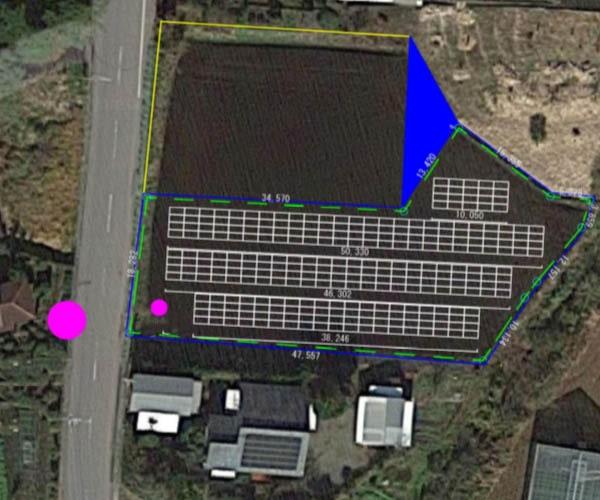 【14円】過積載106.56kW ローン可能 年収入約178万円 宮崎県小林市10土地付き分譲太陽光発電物件