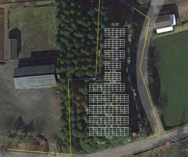 【14円】過積載106.56kW ローン可能 年収入約172万円 宮崎県えびの市11土地付き分譲太陽光発電物件