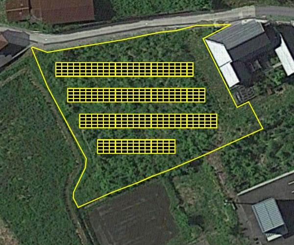 【18円】過積載108.24kW ローン可能 年収入約207万円 鳥取県八頭郡1土地付き分譲太陽光発電物件