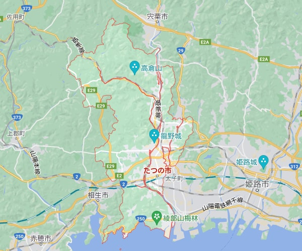 【14円】低圧合計148.19kW ローン可能 2区画セット販売 5214、5222_兵庫県たつの市土地付き分譲太陽光発電物件