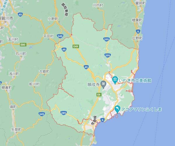 【14円】過積載90kW 限定一区画 年収入約146万円 福島県いわき市太田D-128